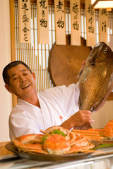 ★お料理・鮨・蟹★古民家風の離れでお風呂付!最高の充電日〜♪