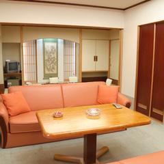 【バリアフリー】和室10畳+洋室ツイン(定員5名) 54平米