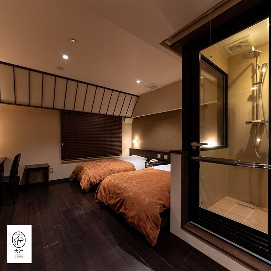 【本館】4F眺望無し 洋室 ベッド2台