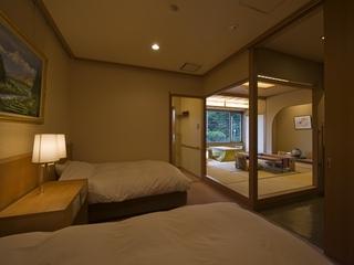 【ワンランクアップ別館悠楽】富士山展望風呂付和洋室