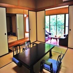 【貸切露天風呂付】20畳以上の広い特別室をご用意♪部屋食絶品会席つき|貸切内風呂無料