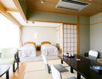 和洋室(ベッド×2)