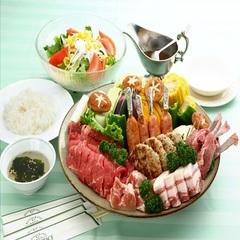 一番人気プラン☆17時台開始のガーデンテラスでバーベキュー
