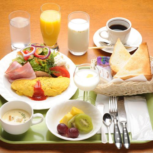 和・洋から選べる朝食付きプラン《LAN無料》