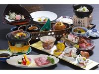 朝夕食付温泉プラン(【青森県産牛 石焼】特別会席料理)