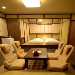 『春月』源泉掛け流し露天風呂付客室離れ板の間12畳+和室6畳