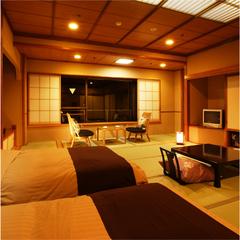 ベッドのある和室 和モダン客室(禁煙)