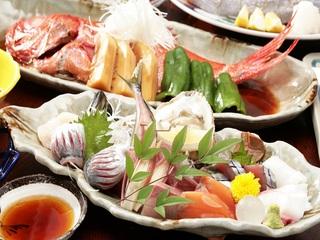 【旬の金目鯛のしゃぶしゃぶ又は煮付けを選択下さい!】脂ののった金目をお楽しみください♪