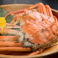 【献上蟹コース】 越前蟹フルコース 蟹まま付 〜献上蟹フルコース〜 [K005]