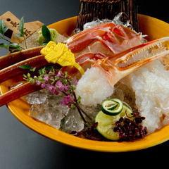 【大蟹コース(約1kg)】 タグ付越前蟹フルコース 蟹まま付 〜大蟹フルコース〜 [K004]
