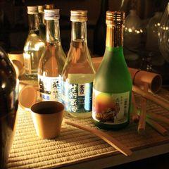 秋田の地酒3種飲み比べ♪旬の郷土料理に舌鼓★お料理は「小町コース」★夕食はお食事処