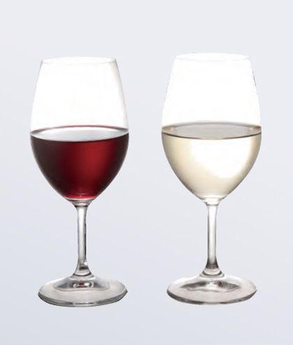 【カップル限定】ウェルカムドリンク付【グラスワイン】よく冷えたワインとともに…お二人で乾杯♪