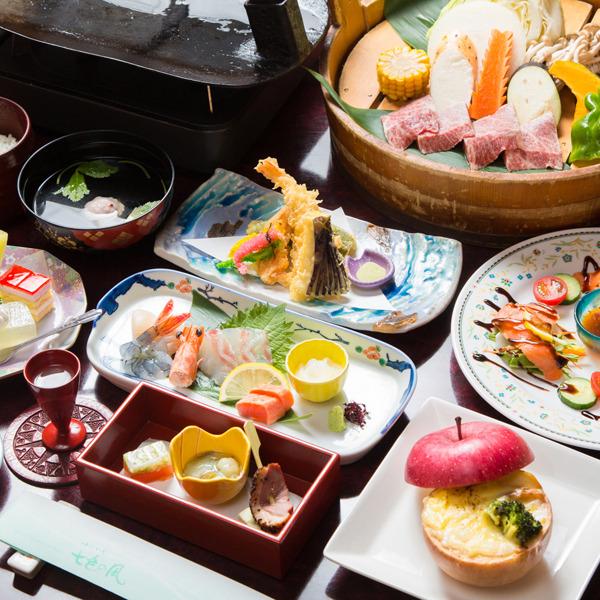●料理長おすすめ、豊後 海の幸・山の幸贅沢プラン☆大分湯布院の贅沢味わえます!