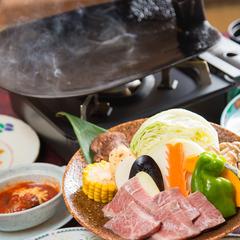 【現金特価】黒毛和牛の鍬焼きプランが5%OFF!