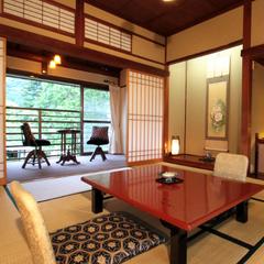 【基本プラン】昭和初期の館「吉昇亭」で源泉三昧
