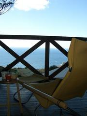 キッチン完備!材料持込でクッキング! 海一望のコテージでゆったり気ままな別荘ライフプラン