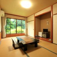 和室9畳★ テレビ・トイレ・冷蔵庫付き(中庭側)