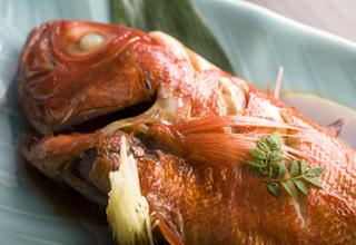 【囲炉裏de炭火焼き】金目鯛姿煮とタラバが夢の共演♪※5組限定