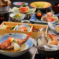 【その日の仕入れでメニューを決定!】〜旬の煮魚&刺身皿盛り&季節の海鮮鍋〜『魚介中心「極み」プラン』