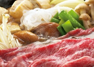 【お料理充実!山形堪能グルメプラン】〜山形牛すき焼き&大紅ズワイ蟹&刺身皿盛り付♪〜