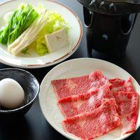【メイン料理セレクション②】山形代表!豪華グルメ!『山形牛のすき焼き鍋』+『紅ズワイ蟹』付き♪