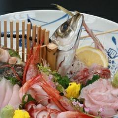 【お魚好きに魚介メインの『極み』プラン】〜旬の煮魚&刺身皿盛り&季節の海鮮鍋付♪〜