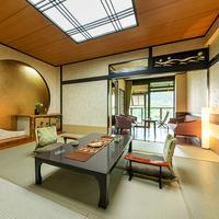 ■木の館■-露天風呂付和室-10+6畳<料亭食>