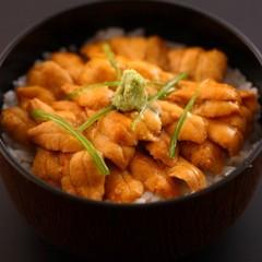 高級魚「甘鯛」&濃厚なうにた〜っぷり!! 【贅沢満喫】甘鯛塩焼き+ウニ飯プラン