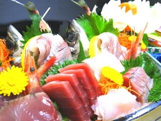 【冬得】さざえ漁火&舟盛!!お刺身いっぱ〜いプラン