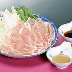【冬期限定お得】《リフト1日券付》熱々♪みゆきポーク鍋と手打十割蕎麦/2食付