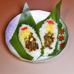 【郷土料理】上杉謙信も食べた「笹ずし」と手打ち十割蕎麦会席/2食付