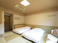 スタンダード 和室ツイン(トイレ有・バス無・21平米・禁煙)