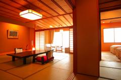 【限定】海一望の新館天遊グレードアップ客室(レストラン食)