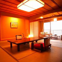 海が一望できる新館天遊グレードアップ客室(夕食お部屋食)