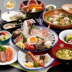 【白洲プラン】南島原の幸を存分に食す!夕食グレードアップ
