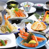 【秋冬旅セール】【かにぐるめプラン】贅沢!かに三昧!釜茹でかに、かに鍋、かに天ぷらなど堪能(2食付)