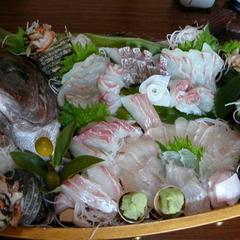 【発見★南あわじ】【地場ならではの絶品グルメトラベル】鯛舟盛り宝楽焼きプラン