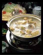 熊野地鶏の水炊き(博多風)