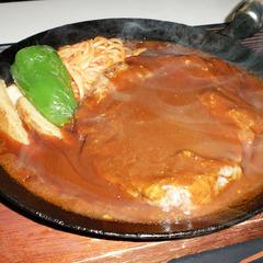 【2食付】観光や仕事で疲れた後は、ガッツリお食事♪当館自慢の「ポークチャップ」!洋食プラン