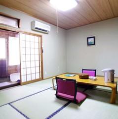 露天風呂付き客室和室8畳「由布」