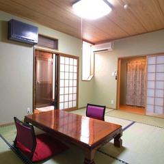 露天風呂付き客室和室2間メゾネットタイプ「やまなみ」
