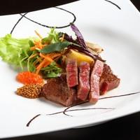 『スタンダードプラン』高千穂サーロインステーキコース〜夕朝食は個室料亭でゆったりと
