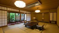 ◆中庭に面したお部屋◆和室12帖 1階【バストイレ付】