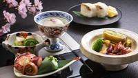 【お部屋食】前菜から楽しむ充実のおもてなし/春の特別御膳★★☆
