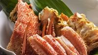 【お部屋食】三大蟹を食べつくす/夏のかに御膳★★☆