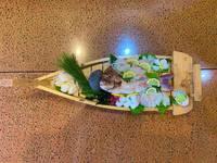 【あわじ島食旅】獲れピチ天然鯛の活造り宝焼き一番人気プラン