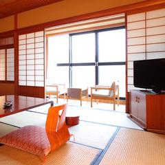 和室12.5畳+広縁付◆ 一番広い、南向きの角部屋/禁煙
