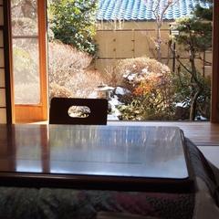 ◇ゆったり庭つき、離れのお部屋(トイレ・洗面所付、禁煙)