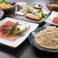 【春夏旅セール】幻のぼくち蕎麦&国産牛ヒレステーキ☆