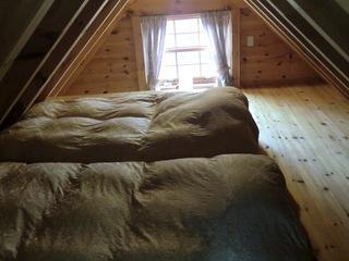 【お先でスノ。】 スノーボード・スキー ログハウスコテージ貸別荘 〜4名用 ペットOK!